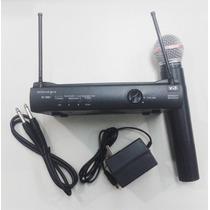 Micrófono Inalámbrico De Mano Transmisor Estuche!!