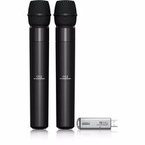 Behringer Ultralink Ulm202 Usb Microfono Inalambrico Dual