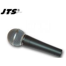 Microfono Jts Pdm 3 Voces Dinamico Simil Shure 58 Dj Garmath