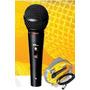 Micrófono Dinamico Skp Pro 20 Vocal Cannon/plug 5 Metros