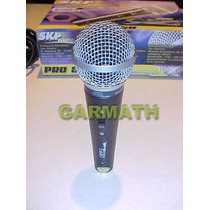 Microfono Skp Pro 58 Con Cable Y Capsula Alemana Dj Garmath