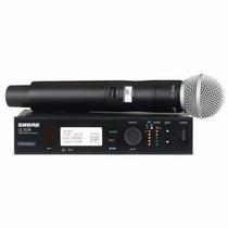 Shure Ulxd24/sm58 Sistema Microfono Inalambrico Mano Uhf