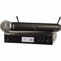 Shure Sistema Micrófono Inalámbrico Vocal Blx24ar/sm58