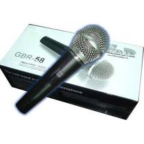 Micrófono Dinámico De Mano Con Cablegbr 58