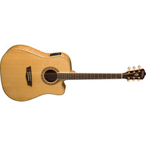 Guitarra Electroacústica Washburn Wd30sce