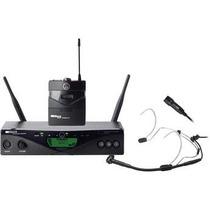 Akg Wms470 Pres Set Microfonos Inalambrico Corbatero C555l