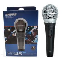 Microfono Shure Pg48pack Qtr/xlr Cable+pipeta+est-en Palermo