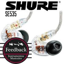 Shure Se535 - Auricular Intraural Profesional 3 Vias
