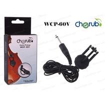 Microfono De Contacto Violin Cherub Wsp-60v Tecnomixmerlo