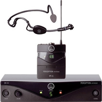 Microfono Inalambrico Vincha Uhf Akg Perception 45 Sport Set
