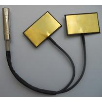 Micrófono Piezoeléctrico Para Contrabajo Zb-2 Doble Pickup