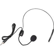 Venetian B-06 Microfono De Vincha Negra Mono Jack Plug
