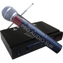 Microfono Inalambrico Gbr Pro 158 De Mano Vhf Profesional