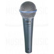 Micrófono P/ Voces Shure Beta 58a Supercardiode