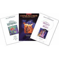 Libros Disney Oficiales De Partituras 3 X 1