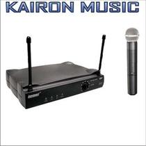 Microfono Inalambrico Lexsen One In One Vhf De Mano