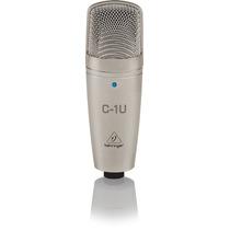 Micrófono Condenser C1-u Behringer Usb Interface Directa