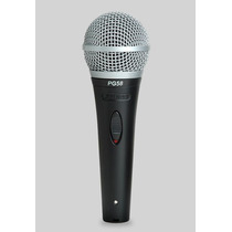 Microfono Shure Dinámico Cardioide Para Voces Pg-58 Xlr