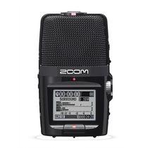 Micrófono Y Grabador Digital Zoom H2n Periodistas Y Musicos