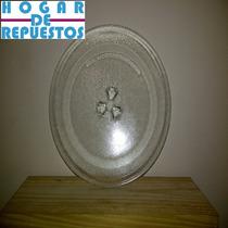 Plato Microondas Encastre Trebol (27cm Diametro) + Medidas