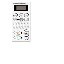 Membrana Frente Teclado Microonda Samsung M 6149 Md 124-2997