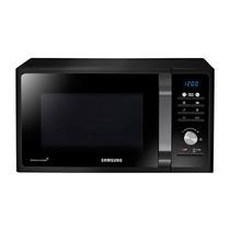 Horno Microonda Samsung Mg23f 23l C/grill 800w Led 6 Nivel