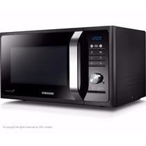 Microondas Samsung 23 Lts Negro Grill 800 Watts Lhconfort