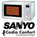 Microondas Sanyo Emgx2610 26litros Acero