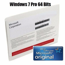 Windows 7 Professional 64 Bits Original En Caja Sellada Dvd