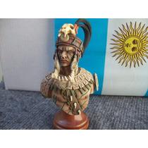 Figura Resina - Busto Nochil Maya