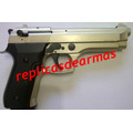 Beretta 92 Fs Full Auto Rafagas !!! 9 Mm (replica Fogueo)