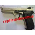 Beretta 92 Fs Full Auto Rafagas !!! 9 Mm Replica (fogueo)