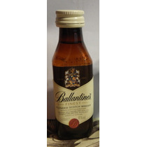 Botellita Whisky Ballantines 50 Cc