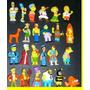 Coleccion Completa Muñequitos Chocolatin Jack Simpsons 2007