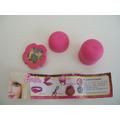 Juguete Colección Huevo Barbie Tipo Kinder Con Cartina