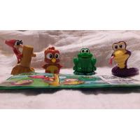 Kinder Coleccion Natoons Ft018 A Ft021 ** Serie Completa **