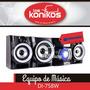 Equipo Musica Daewoo Audio Bluetooth Karaoke Usb Dvd Radio