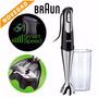 Braun Mq700 Soup Minipimer 750w Velocidad Automatica Envios