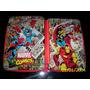 Marvel Comics-cartuchera 2 Pisos De Lata-tapas Metal-hèroes!