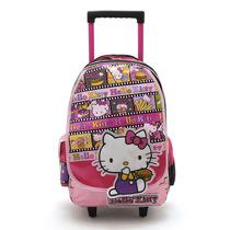 Mochila Hello Kitty Con Carro 17 Mk901