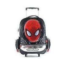 Mochila Spiderman Con Carro Grande
