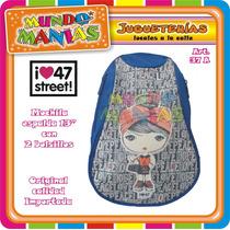 Mochila Espalda 47st - 13 Pulgadas - Original - Mundo Manias