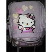 Mochila Para Nena- Hello Kitty