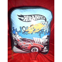 Hot Wheels Mochila Espalda Nene Escolar Escuela Colonia Club
