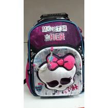 Mochila De Espalda 3d Monster High 16 - Licencia Original