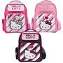 Mochila Espalda Hello Kitty Sanrio Original Grande 17