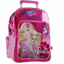 Mochila Barbie Con Carro 16793