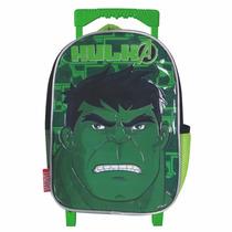 Mochila Carro Jardin Avengers Hulk Con Licencia 12