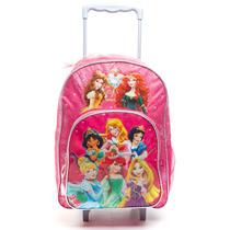 Mochila Escolar Con Carro Princesas 16 Pulgadas Todoxmia