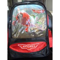 Mochila Aviones,toy Story Y Avengers Ideal Escolares 40x30cm